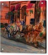 Carriage Ride Acrylic Print