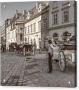 Carriages Back To Stephanplatz Acrylic Print