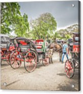 Carriages Acrylic Print