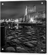 Carrickfergus Castle 7 Acrylic Print