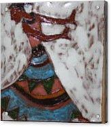 Carrie - Tile Acrylic Print