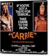 Carrie, Sissy Spacek, 1976 Acrylic Print