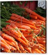 Carrot Bounty Acrylic Print