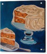 Carrot Cake Acrylic Print