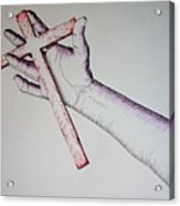 Carry Your Cross Acrylic Print