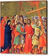 Carrying Of The Cross 1311 Acrylic Print
