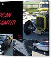 Cars From American Graffiti Acrylic Print