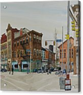 Carson Street Southside Pittsburgh Acrylic Print