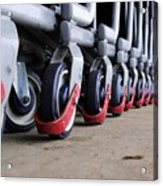 Cart Wheels Acrylic Print