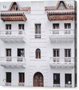 Cartagena De Indias Acrylic Print