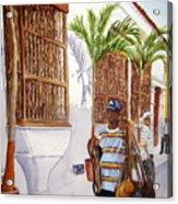 Cartagena Peddler I Acrylic Print