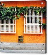 Cartagena Street Acrylic Print