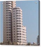 Cartagena Towers Acrylic Print