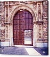 Carthusian Monastery Granada Acrylic Print