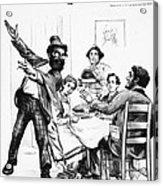 Cartoon: Anarchist, 1893 Acrylic Print