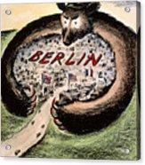 Cartoon: Cold War Berlin Acrylic Print