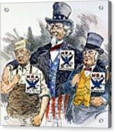 Cartoon: New Deal, 1933 Acrylic Print