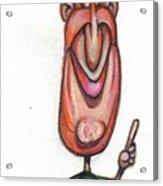 Cartoon No 132 Acrylic Print