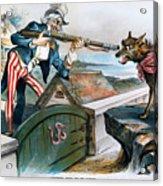 Cartoon: Panic Of 1893 Acrylic Print