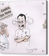 Cartoon Acrylic Print