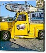 Cartoon Truck Acrylic Print