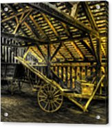 Carts Before The Horse Acrylic Print