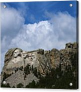 Carved In Stone For Eternity Acrylic Print