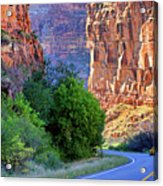 Carving The Canyons - Unaweep Tabeguache - Colorado Acrylic Print