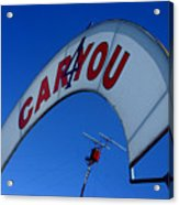 Caryou Acrylic Print