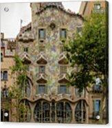 Casa Batllo In Barcelona, Spain Acrylic Print