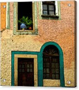 Casa With Sea Green Acrylic Print