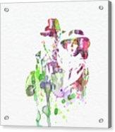 Casablanca Acrylic Print by Naxart Studio