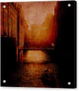 Casanova's Waterway Acrylic Print
