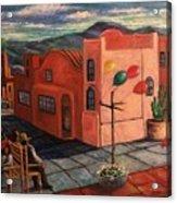 Casas Rosadas Acrylic Print