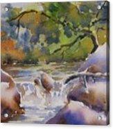 Cascade 2 Acrylic Print
