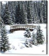 Cascade Christmas Acrylic Print