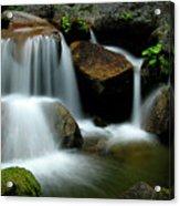 Cascade Creek Yosemite Acrylic Print