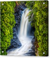 Cascade - Lower Falls Acrylic Print