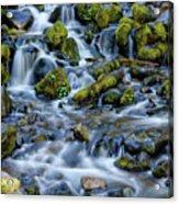 Cascade Of Many Waters Acrylic Print