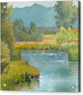 Cascade Pond Acrylic Print