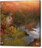 Cascade Valley Sunrise Acrylic Print