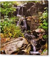 Cascades N Pool Acrylic Print