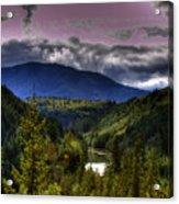 Cascades View Acrylic Print