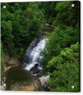 Cascadilla Waterfalls Cornell University Ithaca New York 02 Acrylic Print