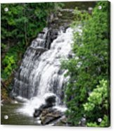 Cascadilla Waterfalls Cornell University Ithaca New York 03 Acrylic Print