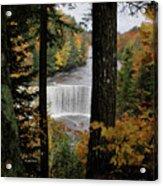 Cascading Colors Acrylic Print