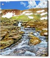 Cascading Source Stream Acrylic Print