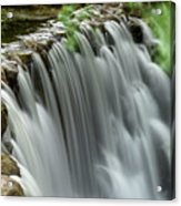 Cascading Water Acrylic Print