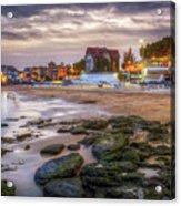 Cascais Beach Acrylic Print
