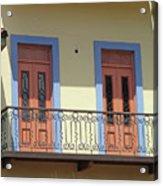 Casco Viejo Panama 11 Acrylic Print